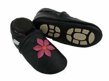 Liya's Babyschuhe Hausschuhe Lederpuschen Kindergartenschuhe - #694 Pinkblume