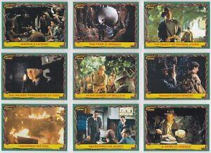 2008 Topps Indiana Jones Heritage Base Card You Pick Finish Your Set