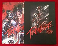 TURBULENCE Art of Storm Lion Singapore [Book + Poster] Fantasy Video Game Design