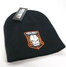 Berretta Call of Duty Black Ops III Skull skeleton Logo Patch Beanie winter Hat