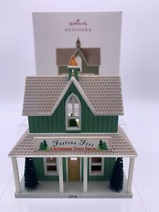 Nostalgic Houses and Shops Festive Firs Christmas 2018 Hallmark Ornament
