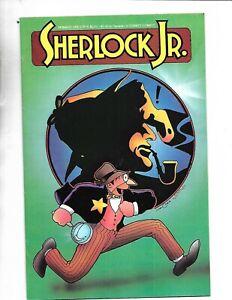 Sherlock Holmes Jr Eternity Comic Books 1-3 Golden Art Strip Reprints FINE COND.