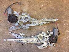 MGF / MG TF - Electric Window Motors Regulators. Pair LH & RH. Grey Plug.