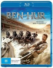 BEN HUR (2016) - BRAND NEW & SEALED BLU RAY (JACK HUSTON, MORGAN FREEMAN)