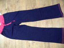 Schiesser uncover hermosas Homewear pantalones Sweat pants azul Gr. 140 nuevo st118