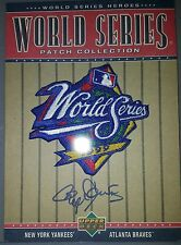 2002 Upper Deck World Series Patch Collection Autograph auto Roger Clemens #WS99