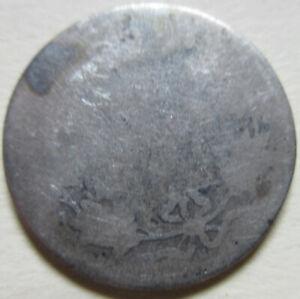 1881 Canada Silver Twenty-Five Cents Coin. RARE DATE. (UJ4)