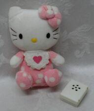 "Rare Hello Kitty Vintage Sanrio Greetings 6.5"" Plush Stuffed Animal Pink Heart"