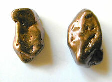 COPPER  ~ NATIVE COPPER NUGGETS x 2  ~  lot #2