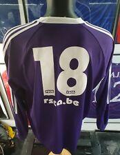 Maillot jersey trikot shirt anderlecht belgium Belgique 2006/2007 porté worn XL