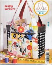 Kwik Sew Sewing Pattern K118 Carry Craft Knitting Sewing Reusable Shopping Bags
