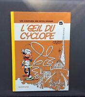 Les petits hommes n°5. L'oeil du cyclope. Dupuis 1976 EO. Seron