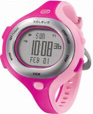 Soleus Chicked Womens Digital Running Watch - Pink