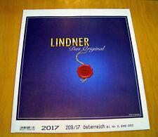 LINDNER T-Nachtrag Österreich (209/17) 2017