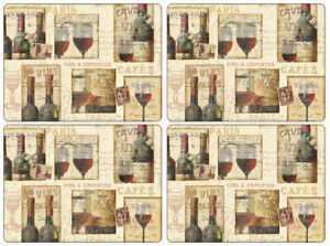 Pimpernel Placemats, The French Cellar, Set of 4 (2010648586)