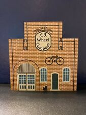 Cats Meow Village C.O. Wheel Company 1988 Tradesman Series Shelf Sitter