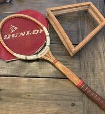 Super Vintage Wood 1980s Dunlop MAXPLY McENROE Tennis Racket Barely Used