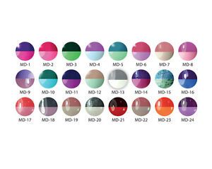 Mood Temperature Changing Gel Polish Colors - 24 Bottles Limited Edition!