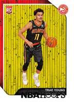 2018-19 NBA Hoops Basketball #250 Trae Young Atlanta Hawks RC Rookie Card made b