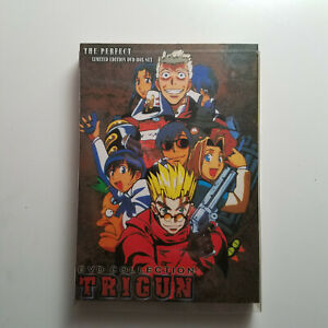 Trigun - The Perfect Limited Edition 3 DVD Box Set - FAST SHIPPING