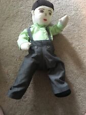 Handmade Male Doll Cloth Ooak 18� Stuffed Embroidered Face