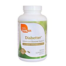 Diabetic and Blood Sugar Balance Health Vitamins ~ Zahler Kosher 180 Count