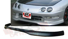Type R Style Front Lip for 1994 -97 Acura Integra 2D Unpainted Black PPR Plastic