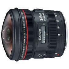 Canon EF 8-15mm f/4L Fisheye USM Ultra-Wide Zoom Lens for Canon EOS SLR  NEW