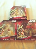 Star wars hero mashers lot of 3 new in near perfect condition