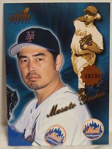 MASATO YOSHII 1999 Pacific Aurora Opening Day Issue #124 ~ #'d /31 ~ NY METS