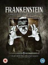 FRANKENSTEIN Complete Legacy Collection SEALED 7 Films/Movies Bride/Ghosy/Son of