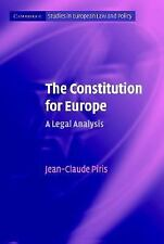 The Constitution For Europe: A Legal Analysis (cambridge Studies In European ...