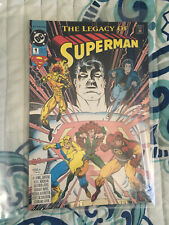 The Legacy Of Superman #1 Comic Book DC Very Fine