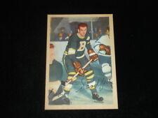 1953-54 Parkhurst Hockey Card-Eddie Sanford-Boston Bruins-#90-NM/MT centered