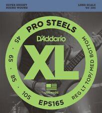 Cordes basses électriques en acier inoxydable pour guitare et basse