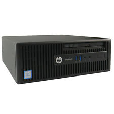 HP ProDesk 400 G3 SFF [Intel i3 6100 @3.70GHz / 4GB | 500GB HDD] Windows 8/10 No
