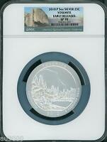 2010-P YOSEMITE NP America Beautiful ATB 5 Oz SILVER NGC SP70 EARLY RELEASES ER