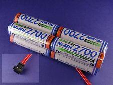 Senderakku Panasonic 2700 Würfel für Graupner ( Früher Sanyo )