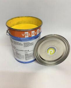 Strassenmarkierungsfarbe   gelb   RAL 1023     6 kg       Grundpreis 10,33€/kg