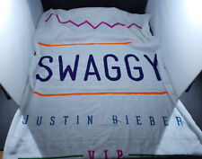*  JUSTIN BIEBER- SWAGGY beach  TOWEL GYM  :VIP members only -concert gear