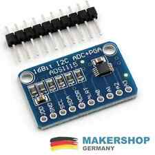 ADS1115 4 Kanal AD-Wandler ADC Modul Breakout Board I2C Arduino Raspberry 16Bit