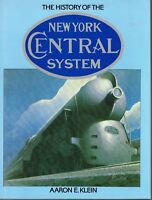 THE HISTORY OF THE NEW YORK CENTRAL  - RR BOOK ESTATE SALE ONLY $8.95!  - VG