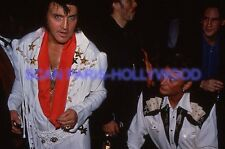 JOHNNY HALLYDAY 90s DIAPOSITIVE DE PRESSE ORIGINAL SLIDE #113