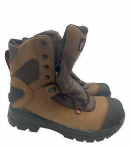 Red Wing CRV 8 Inch Leather EH Safety Toe Work Boot 438 Brown MENS SIZE 9.5 E2