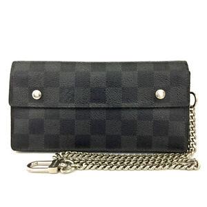 Louis Vuitton Damier Graphite Adjustable Long Wallet82654
