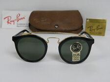 New Vintage B&L Ray Ban Gatsby Combo Style 4 W0932 Ebony Black G-15 Gray NOS