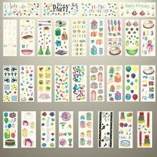Creative Memories - BIRTHDAY & CELEBRATION THEME STICKERS - VARIETY TO CHOOSE