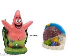 Spongebob Show Patrick Aquarium Decoration Ornament & Patrick's Rock Fish Tank