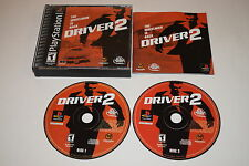Driver 2 Sony Playstation PS1 Video Game Complete