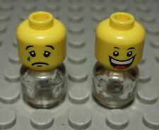 Lego Figur Zubehör Kopf Mann                                             (107 #)